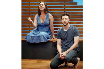 "Miriam Silverman & Adam Green in ""Riverbed"""