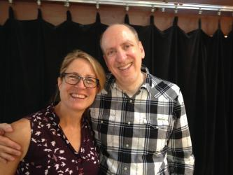 Eric Lane & composer Meghan Cary